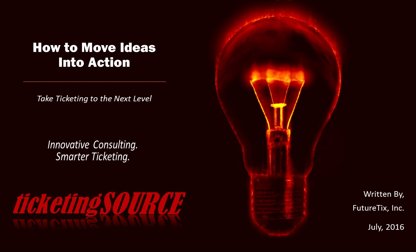 Ebooks guides ticketingsource powered by futuretix guide how to move ideas into action fandeluxe Images